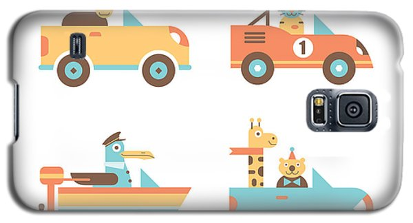 Seagull Galaxy S5 Case - Animal Cars by Mitch Frey