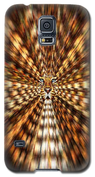 Galaxy S5 Case featuring the painting Animal Magnetism by Paula Ayers