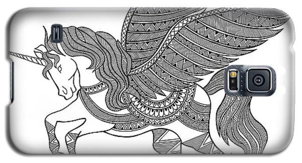 Animal Unicorn Galaxy S5 Case by Neeti Goswami
