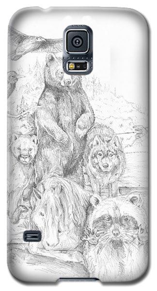 Animal Wisdom Galaxy S5 Case
