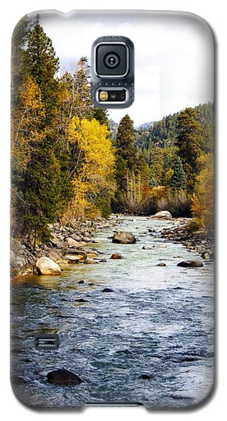 Galaxy S5 Case featuring the photograph Animas River by Kurt Van Wagner