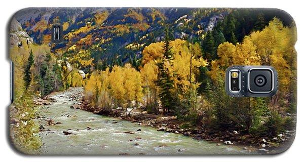 Galaxy S5 Case featuring the photograph Animas River San Juan Mountains Colorado by Kurt Van Wagner