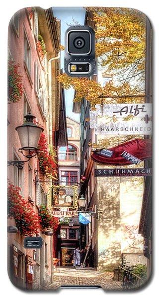Ankengasse Street Zurich Galaxy S5 Case by Jim Hill
