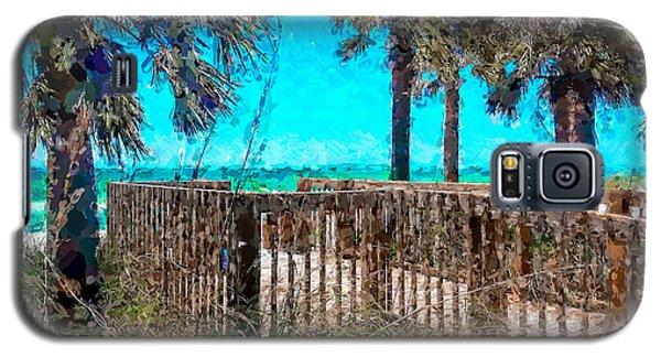 Anna Maria Boardwalk Access Galaxy S5 Case