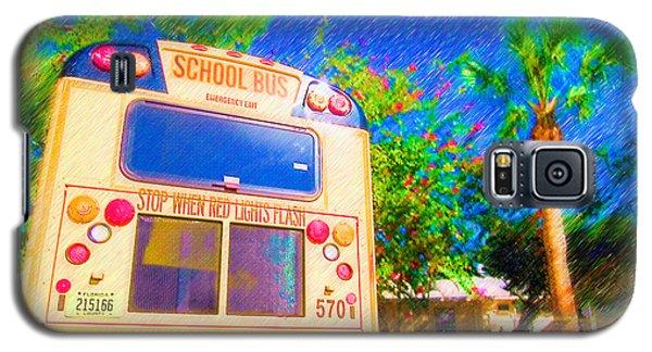 Anna Maria Elementary School Bus C131270 Galaxy S5 Case