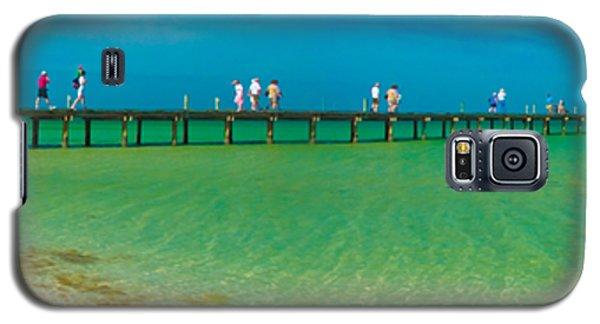 Anna Maria Island Historic City Pier Panorama Galaxy S5 Case