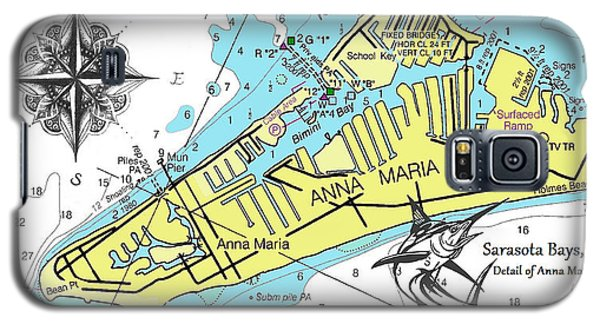 Anna Maria Island Galaxy S5 Case