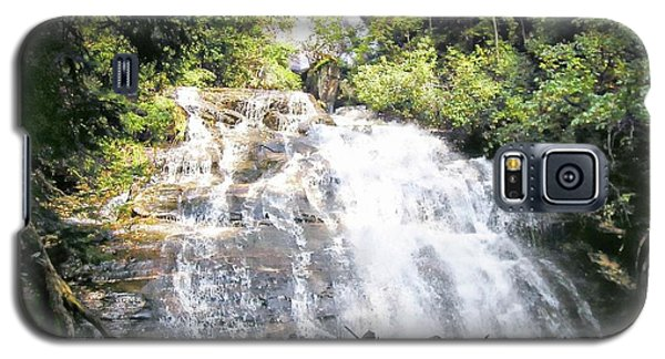 Galaxy S5 Case featuring the photograph Anna Ruby Falls by Jerry Battle