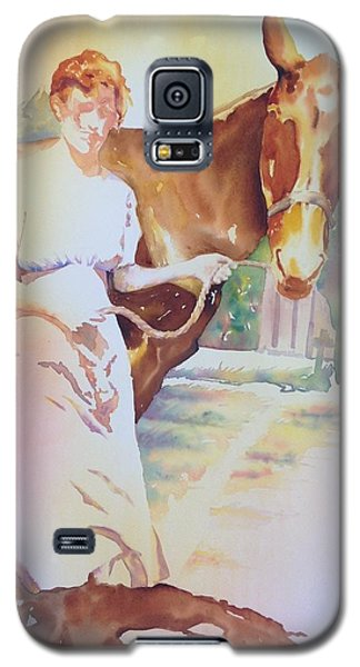 Anna Violet Stubblefield And Lightning Circa1913 Galaxy S5 Case