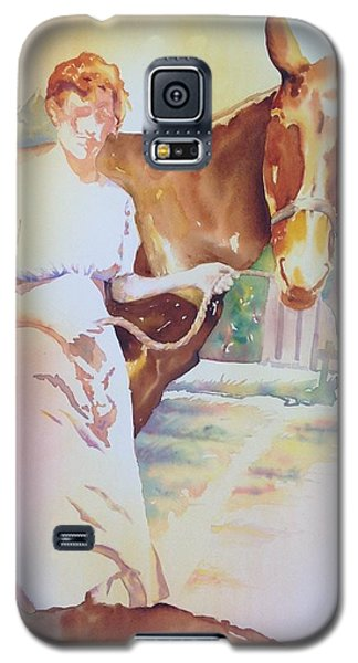 Anna Violet Stubblefield And Lightning Circa1913 Galaxy S5 Case