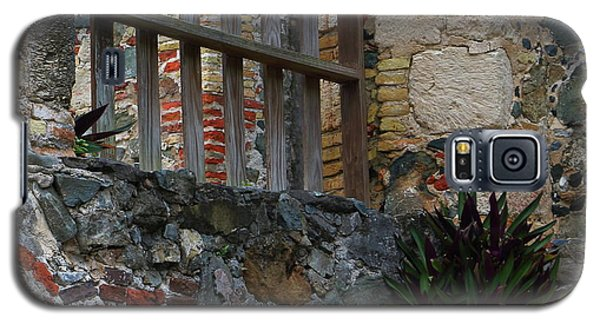 Annaberg Ruin Brickwork At U.s. Virgin Islands National Park Galaxy S5 Case by Jetson Nguyen