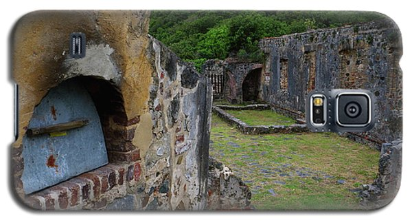 Galaxy S5 Case featuring the photograph Annaberg Sugar Mill Ruins At U.s. Virgin Islands National Park by Jetson Nguyen