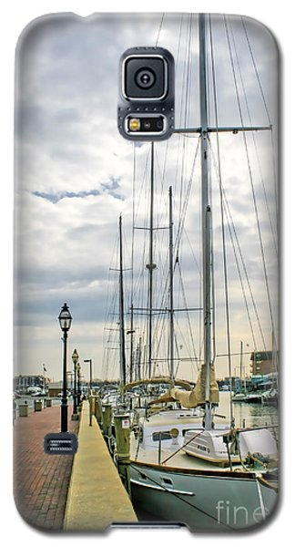 Galaxy S5 Case featuring the photograph Annapolis Harbor  by Richard Lynch