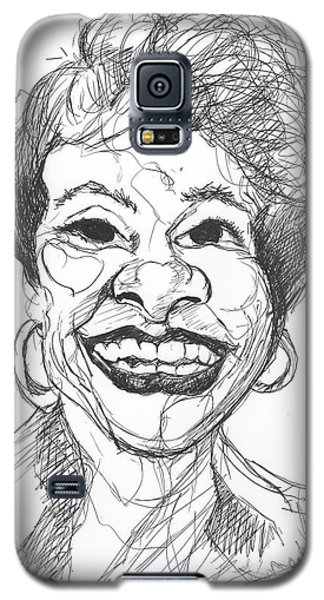 Annette Caricature Galaxy S5 Case