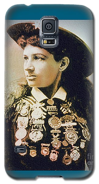 Annie Oakley - Shooting Legend Galaxy S5 Case