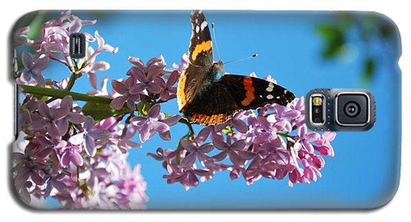 Annie's Butterfly Galaxy S5 Case