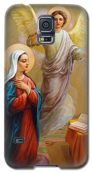 Annunciation To The Blessed Virgin Mary Galaxy S5 Case by Svitozar Nenyuk