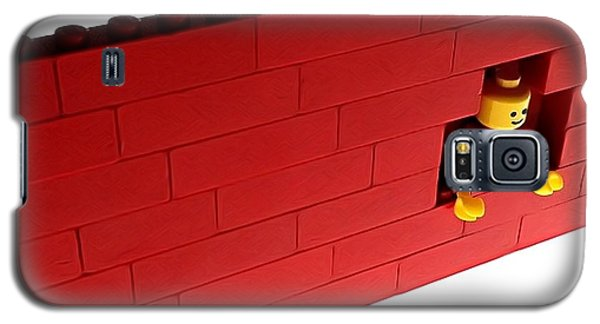 Galaxy S5 Case featuring the photograph Another Brick In The Wall by Mark Fuller