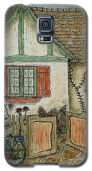 Another Crooked Cottage Galaxy S5 Case