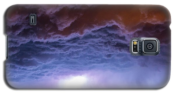 Another Impressive Nebraska Night Thunderstorm 007 Galaxy S5 Case