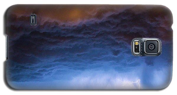Another Impressive Nebraska Night Thunderstorm 008/ Galaxy S5 Case