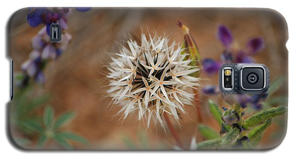 Another White Flower Galaxy S5 Case