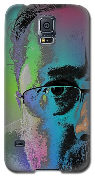 Galaxy S5 Case featuring the digital art Anothercolor by Jeff Iverson