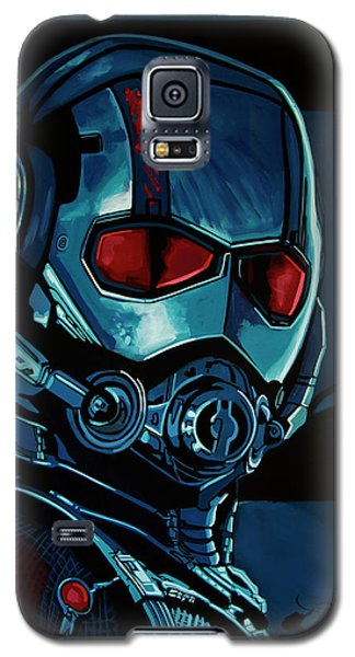 Ant Man Painting Galaxy S5 Case by Paul Meijering