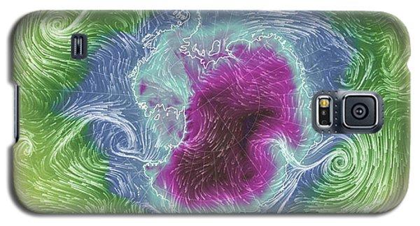 Antarctica Abstract Galaxy S5 Case by Geraldine Alexander