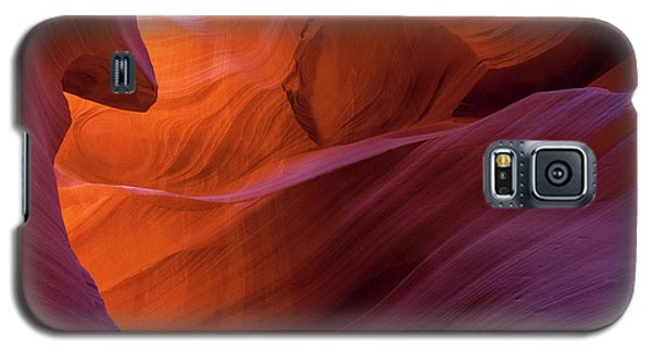 Antelope Canyon Fire Galaxy S5 Case