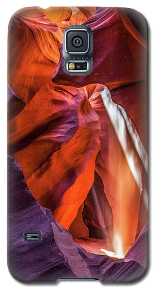 Antelope Canyon Lightshaft 3 Galaxy S5 Case