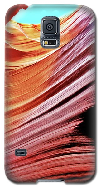 Galaxy S5 Case featuring the photograph Antelope Canyon by Lorella Schoales