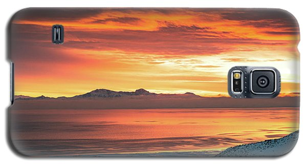 Antelope Island Sunset Galaxy S5 Case
