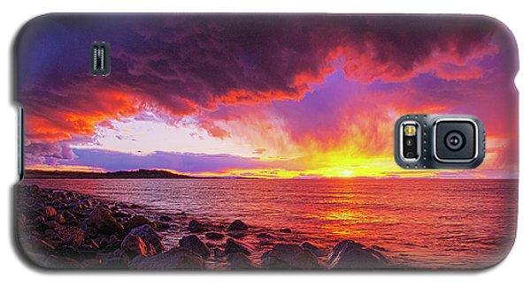 Antelope Island Sunset Galaxy S5 Case