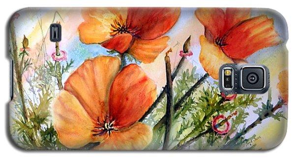 Antelope Valley Poppy Fields Galaxy S5 Case