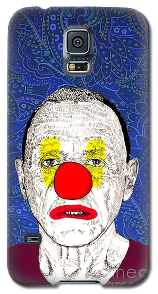 Galaxy S5 Case featuring the drawing Anthony Hopkins by Jason Tricktop Matthews