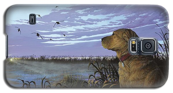 On Watch - Yellow Lab Galaxy S5 Case