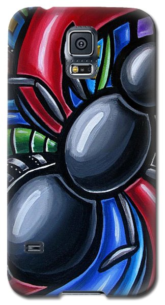 Ant Art Painting Colorful Abstract Artwork - Chromatic Acrylic Painting Galaxy S5 Case