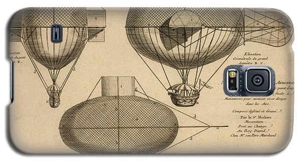 Antique Aeronautics Galaxy S5 Case