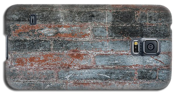 Galaxy S5 Case featuring the photograph Antique Brick Wall by Elena Elisseeva