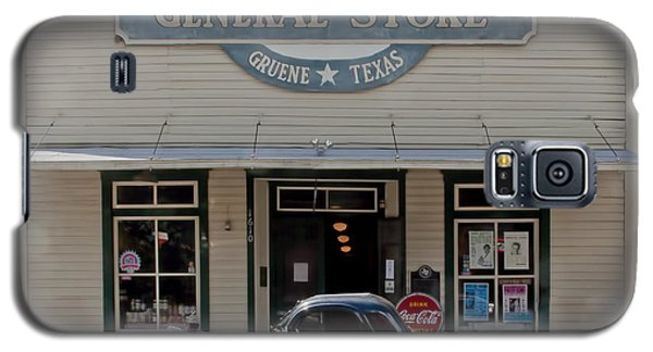 Antique Car At Gruene General Store Galaxy S5 Case