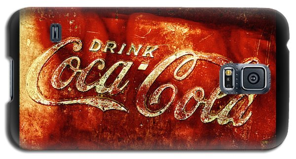 Antique Coca-cola Cooler II Galaxy S5 Case