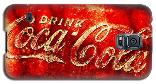 Antique Coca-cola Cooler Galaxy S5 Case