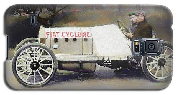 Antique Fiat Racer Dop Galaxy S5 Case