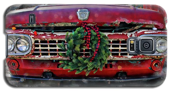 Antique Ford Christmas Galaxy S5 Case
