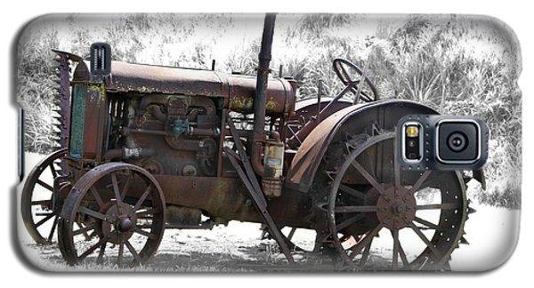 Antique Iron Horse Galaxy S5 Case