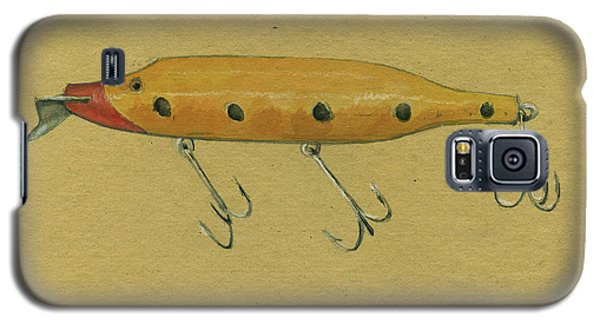 Trout Galaxy S5 Case - Antique Lure by Juan Bosco