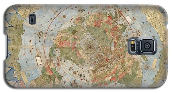 Antique Maps - Old Cartographic Maps - Flat Earth Map - Map Of The World Galaxy S5 Case