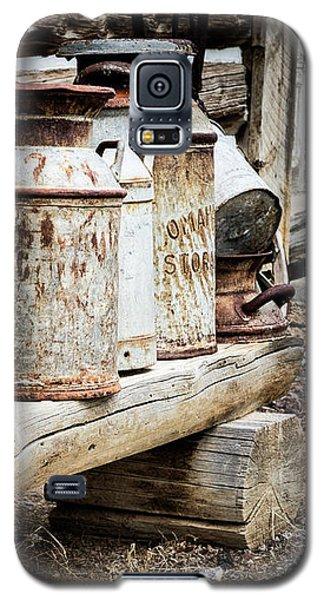 Antique Milk Cans Galaxy S5 Case