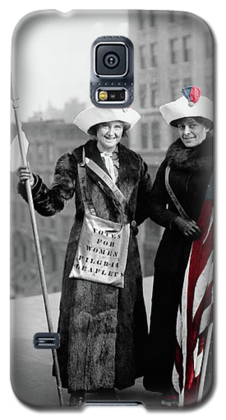 Antique Photo Of Two Women Galaxy S5 Case